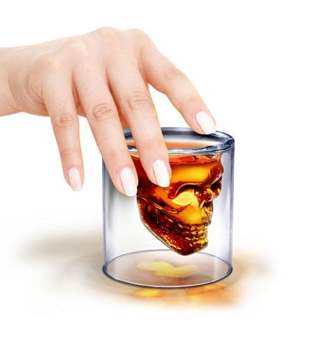כוס שוט גולגולת הדום