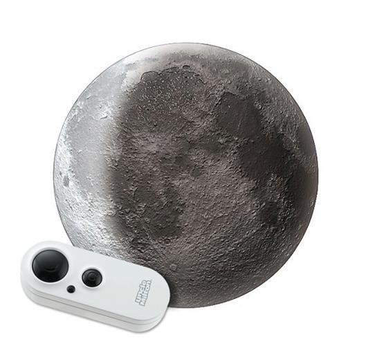 מנורת ירח עם שלט