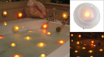 נר אוירה ספא  פיזור עלי כותרת של ורדים בתוך האמבטיה שלך היא רומנטית בטירוף,יף ללא שום מאמץ.