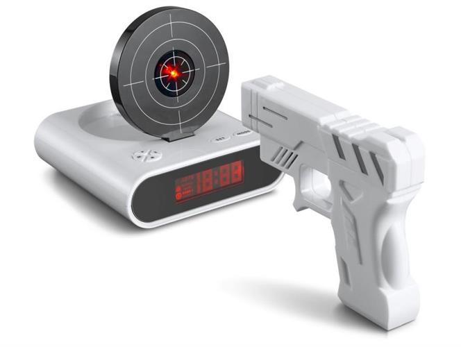 שעון מעורר אקדח