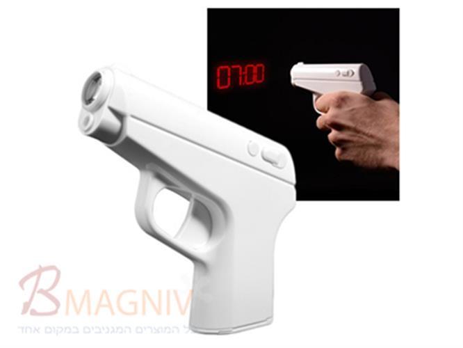 אקדח מרגלים - שעון מעורר מקרין