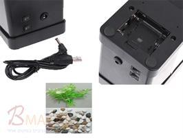אקווריום USB שולחני עם תאורה מחפשים מתנה מדליקה למשרד ?