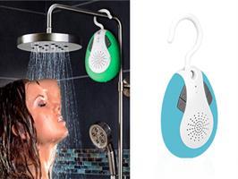 רוצים לשמוע מוזיקה במקלחת ? אולי רדיו ?