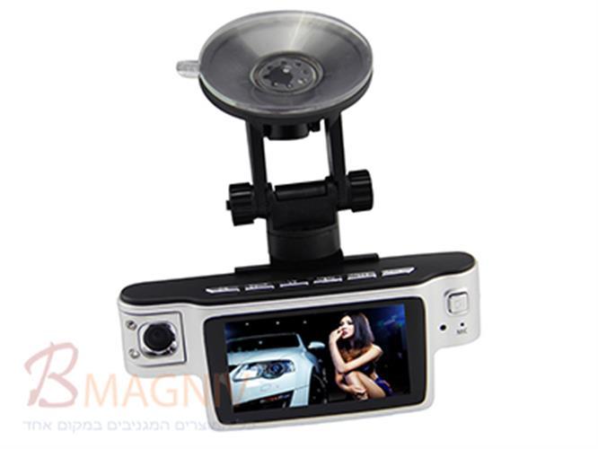 מצלמה לרכב 2 עדשות עם ראיית לילה HD1080