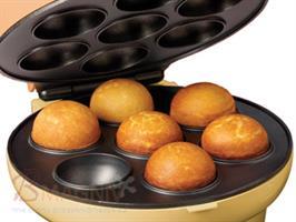 טוסטר להכנת קייק פופס (כדורי עוגה על מקל), חדש חדש בבי מגניב טוסטר להכנת 12 קייק פופס תוך זמן קצר של 5-7 דקות מאפשר פרקטיות ודיוק באפייה, הכנה קלה ומהירה, תוכלו לאפות ולקשט 12 קייק פופס למשפחה או לחברים. מתנה מדליקה למטבח שלכם בבית.  למוצר מצורפים: חוברת הוראות הפעלה + 2 מתכונים להכנה קלה ומהירה 24 מקלות מגש קייק פופס עליו ניתן להעמיד את הקייק פופס בזמן קישוט והכנה בצורה נוחה ויעילה, אחריות: שנה