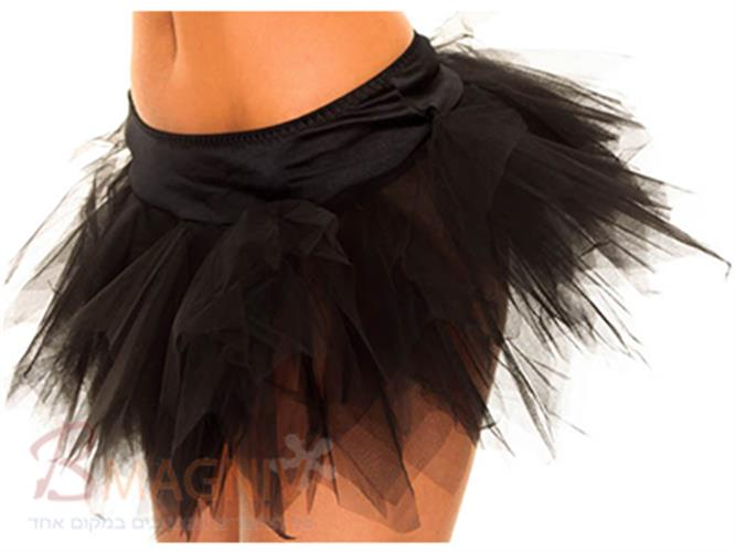 חצאית טוטו שחורה