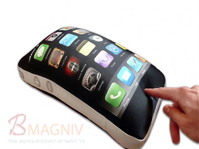 כרית בעיצוב של אייפון