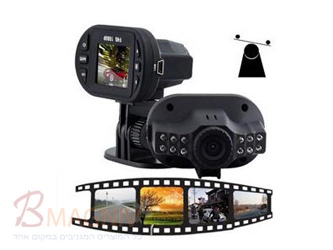 מצלמה לרכב FULL HD 1080P עם ראיית לילה 12 נורות לד